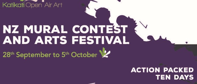 NZ Mural Contest and Arts Festival