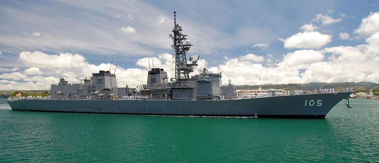 Japanese Maritime Self-Defence Vessel Inazuma Open Day