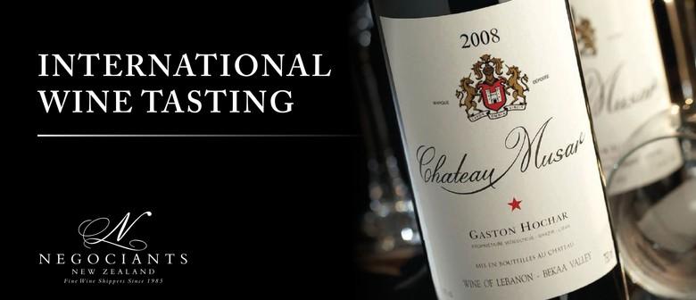 International Wine Tasting