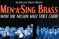 Image for event: Men-a-Sing Brass featuring Nelson City Brass and the Nelson