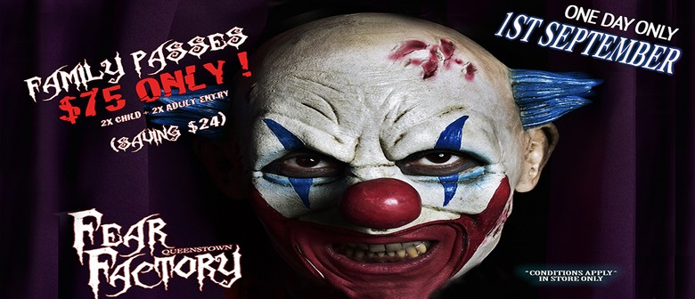 Fear Factory Father's day Event