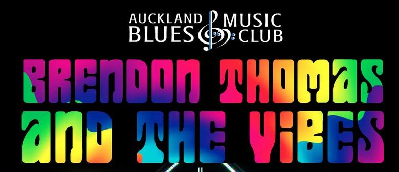 Brendon Thomas & The Vibes - Auckland Blues Music Club