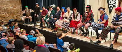 Break a Leg! 1-Day:Explore the Magic of Live Theatre 5-12yrs