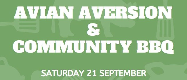 Avian Aversion Training and Community BBQ