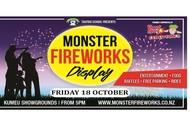 Image for event: Monster Fireworks
