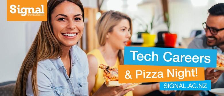 Tech Careers Pizza Night