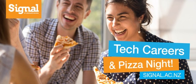 Tech Careers Pizza Night