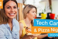 Image for event: Tech Careers Pizza Night
