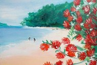 Image for event: Paint and Wine Night – Summer in NZ – Paintvine