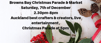 Browns Bay Collective Market and Christmas Parade