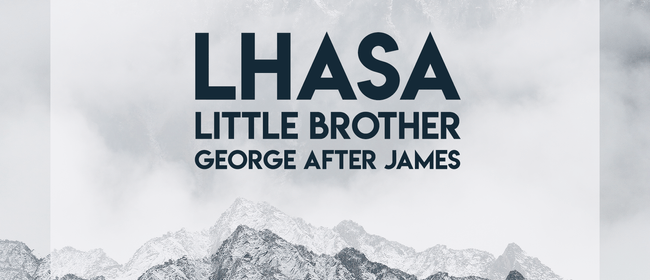 Lhasa with Little Brother & George After James