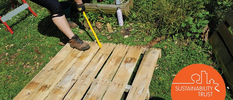 Upcycle a Pallet Into a Garden Bed