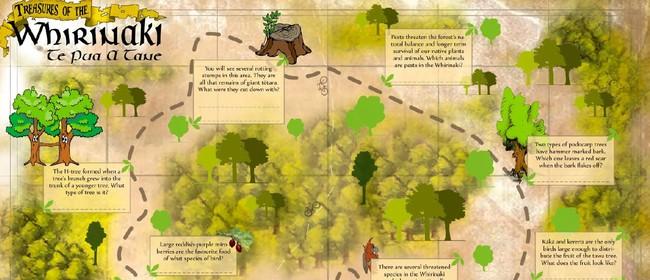 H-Tree Track Treasure Hunt
