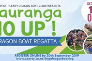 Image for event: Tauranga 10 Up! Dragonboat Regatta