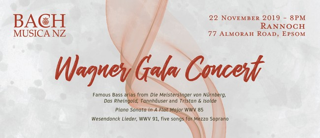 BMNZ: Wagner Gala Concert Incl. Art Exhibition