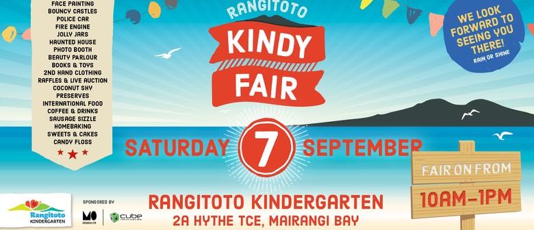 Rangitoto Kindergarten Annual Fair