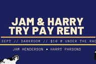 Image for event: Jam and Harry Try Pay Rent