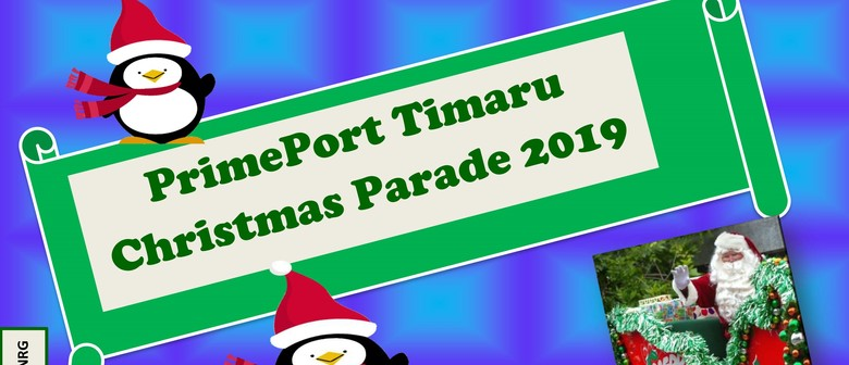 PrimePort Timaru Santa Parade 2019