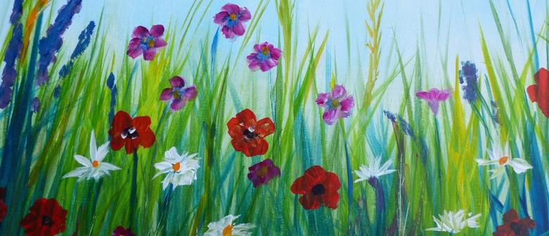 Paint and Wine Night - Spring Bloom - Paintvine