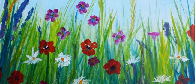 Paint and Wine Night - Spring Bloom - Paintvine