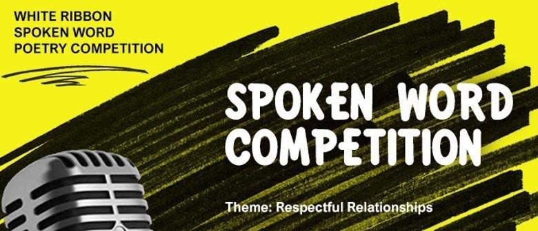 White Ribbon Spoken Word Competition 2019