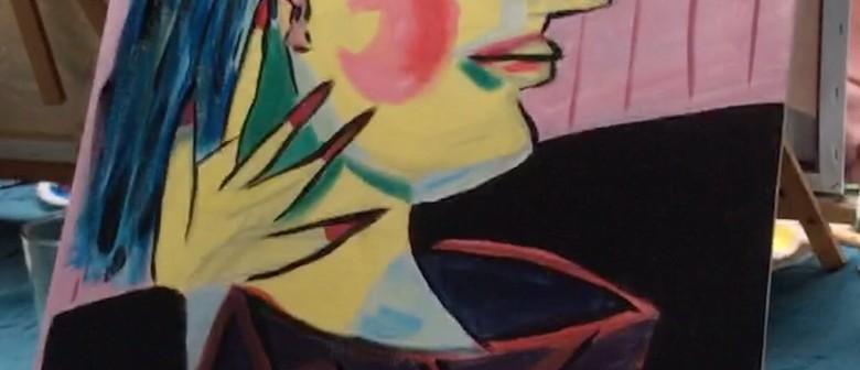 Paint 'Picasso Yourself' Sip Sangria & Eat Tapas