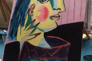 Image for event: Paint 'Picasso Yourself' Sip Sangria & Eat Tapas