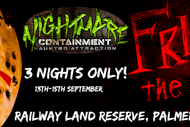 Image for event: Friday 13th at Nightmares Containment