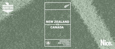 New Zealand vs Canada