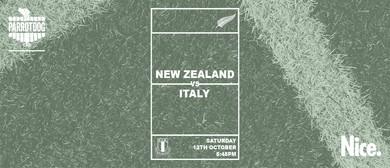 New Zealand vs Italy