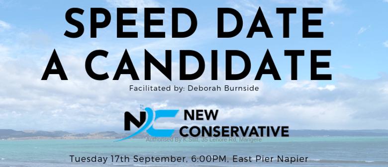 Speed Date a Candidate