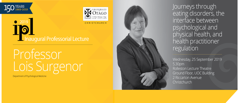Public Lecture: Journeys Through Eating Disorders