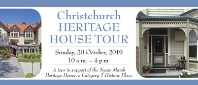Christchurch Heritage House Tour