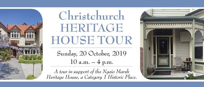 Christchurch Heritage House Tour