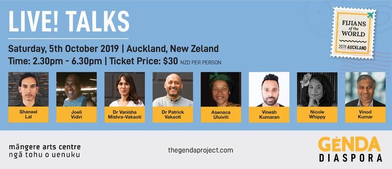 Genda Diaspora Talks - Fijians of the World, Auckland