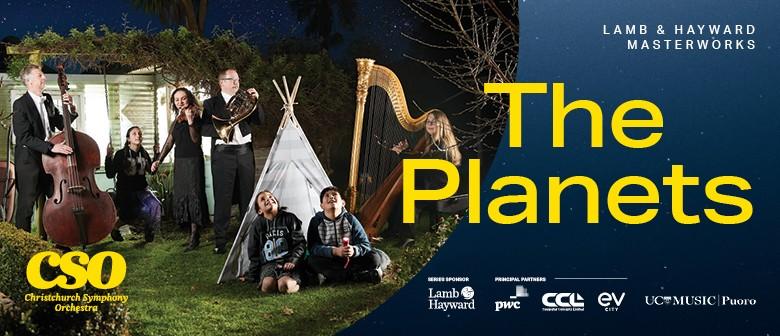 Lamb & Hayward Masterworks: The Planets - Christchurch