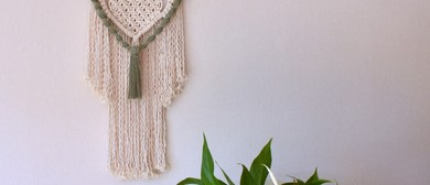 KNOT Along - A macramé wall hanging workshop for beginners