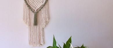 KNOT Along - A macramé wall hanging workshop for beginners
