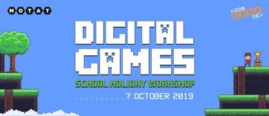 Digital Games School Holiday Workshop