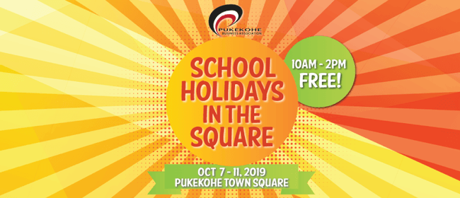 School Holidays in the Square - October Edition