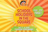 Image for event: School Holidays in the Square - October Edition