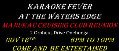 Karaoke Fever at the Water's Edge