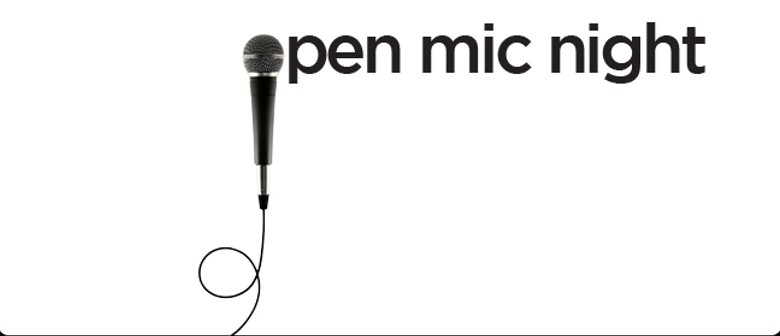 Open Mic: Your Opportunity to Shine, Show Your Honed Skills
