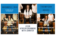 Image for event: Levin African Drumming