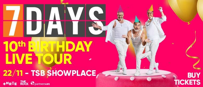 7 Days Live – The 10th Birthday Tour
