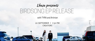 Lhasa – Birdsong EP Release Show With Tyra and Artinian