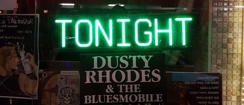 Dusty Rhodes And The Bluesmobile