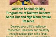 Image for event: Kākāriki Nature Play Holiday Programme