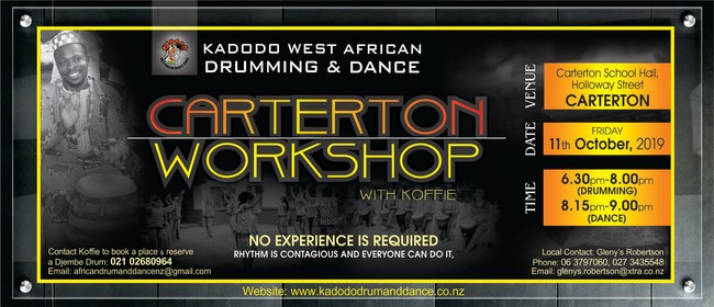 West African Drumming and Dance Workshop in Carterton