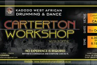 Image for event: West African Drumming and Dance Workshop in Carterton